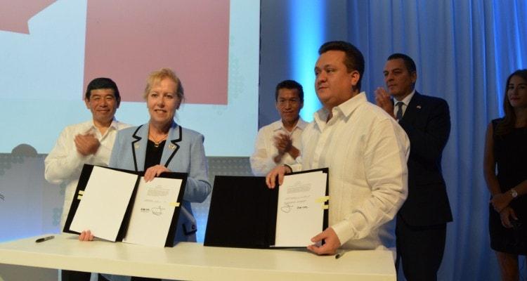 México y Canadá firman acuerdo entre programas OEA